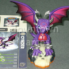 CYNDER SERIES 2 Skylanders Giants loose NEW figure+card+code ships FAST