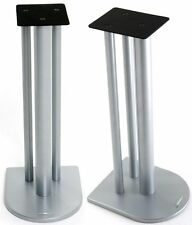 Atacama Nexus 7i Speaker Stands Silver Metallic (Pair)