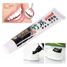 Whitening Toothpaste Bamboo Charcoal Teeth Black Removes Stains Bad Breath 100g
