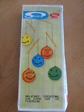 VINTAGE SMILEY FACE BALLOON MOBILE - INFLATABLE - SENSATIONAL - LEGO IMPORTS