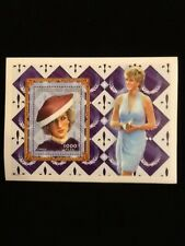 "PRINCESS DIANA COMMEMORATIVE ""BROWN HAT"" STAMP WITH COA"