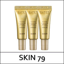 [SKIN79] SKIN 79 Super Plus Beblesh Balm Triple Functions Gold 7g * 3ea / korea