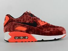 Nike Air Max 90 Anniversary Size 8 Womens Red Velvet Limited Shoes 726485 600