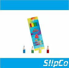 40 Packs of 4 Mini PENCIL CRAYONS Kids Party Bag Stocking Filler Toy UK SELLER