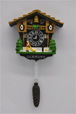 TOURIST SOUVENIR Resin 3D Fridge Magnet --- Cuckoo clock,Schwarzwald,Germany