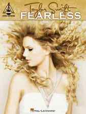 """""""TAYLOR SWIFT-FEARLESS"""" GUITAR WITH TAB MUSIC BOOK 13 SONGS BRAND NEW ON SALE!!"""