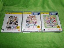Tales of Vesperia Xillia Graces LOT - Japan Import - Playstaion 3 PS3 NEW SEALED