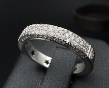 H Stern 18K Gold 0.75ct VS1 Pave Diamond Ring Anniversary Band Size 8.25 RG959