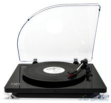 USB Turntable Record Player LP 2 PC MAC CD MP3 w/ Dust Cover, RCA Output New