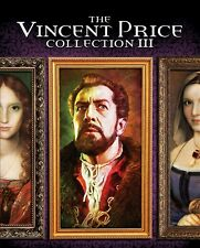THE VINCENT PRICE COLLECTION III New Blu-ray Master of the World Tower of London