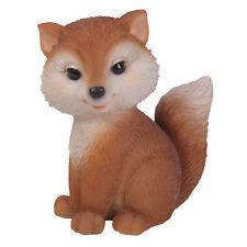 Brand New Female Fox Sitting Garden Ornament