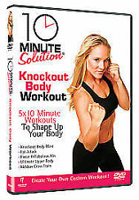10 Minute Solution - Knockout Body Workout (DVD, 2009)