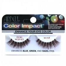 Ardell Color Impact Demi Wispies - Wine Colour - False Eyelashes