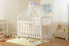 Package C! Classic 3 in 1 Wooden Bassinet/Cot/Day Bed + New Mattress (Aus-made)