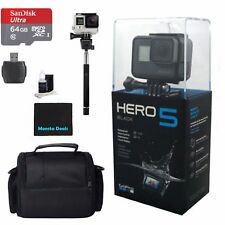 GoPro HERO 5 Camcorder - Black Starter kit