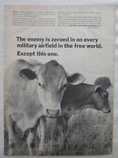 4/1964 PUB REPUBLIC AVIATION CORPORATION V/STOL JET FIGHTER US FRG VACHE COW AD