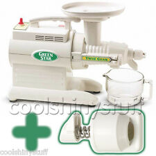 New! Green Star GS-2000 Juicer GreenStar GS2000 +BONUS