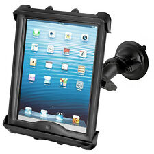 "RAM  Suction Cup Mount fits iPad, 10"" Tablets w/Otterbox,Belkin,Griffin, HD Case"