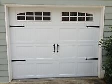 Garage Door Decorative Hardware Kit - Hinges & Handles - Double Kit - w/screws