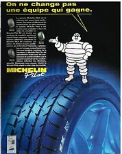 Publicité Advertising 1997 Les Pneus Michelin Pilot SX