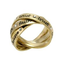 Disney Couture SALE! Gold Plated Interlocking Tinkerbell Medium Ring (RRP £39)
