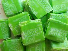Now and Later 1/2lb Extreme Sour APPLE Soft Chews Fruit Candy Candies BFR