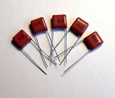 0.047uF 47nF 630V Polyester Radial Capacitors 5 pcs Valve Amplifier Radio 0.05uF