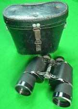 RARE German Germany WWII WW2 Binoculars w/ Case