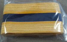 US Army Service Uniform (Dress Blue) Officer Cap Braid / Chemical Corps