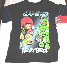 Angry Birds 100% Cotton Short Sleeve T Tee Shirt Toddler Boys 2T Multi-Color