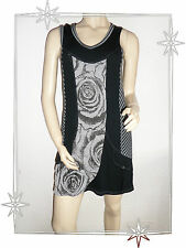 Robe Tunique Fantaisie Chasuble Noire Armand Thiery Taille 2 - 38 / 40