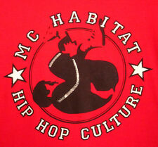 MC HABITAT hooded sweatshirt hip hop 2XL rap XXL Toledo OHIO breakdance hoodie
