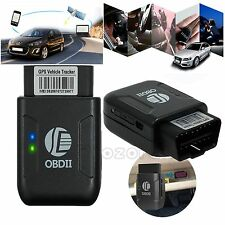 OBDII OBD2 GSM GPS GPRS RealTime Tracker Personal Car Vehicle Tracking Device UK