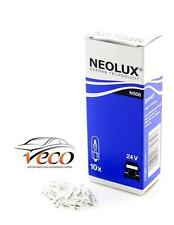 NEOLUX OSRAM 24 VOLT 24V W1.2W WATT T5 WEDGE N508 AUTO LIGHT BULBS BOX OF 10