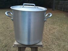 "12"" Dehillerin 23.5 Qt Mauviel Stock Pot Stew Pan 4mm W/Lid French"