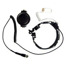 Pryme Gladiator Throat Mic for ICOM 2-Pin Side Connector (With Screws)
