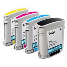 4 Pack HP 940XL Ink Cartrdge OfficeJet Pro 8500 OfficeJet Pro 8500a Plus Printer