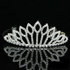 Wedding Bridal Bridesmaid Flower Girls crystal tiara crown / headband 002