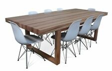 Portsea - 2400mm Solid Messmate Dining Table