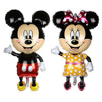 "44"" MICKEY MOUSE Minnie Birthday Party Foil Balloons Theme Baby Shower Supplies"