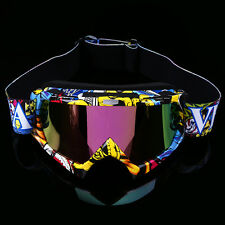 Dust/Windproof Eyewear Glasses Motocross Dirt Bike Racing Riding Sport Goggles