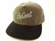 NEW RIP CURL WINSTON SNAP BACK CHARCOAL CAP HAT One size Adjustable ZY349