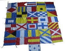 Naval Signal Flags / Flag SET- 100% COTTON - Set of Total 36 flag