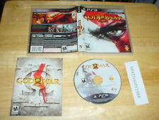 GOD OF WAR III (3) game complete w/ Manual for Sony Playstation 3 PS3