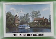 CPA Great Britain Hunsett Mill Windmill Moulin Windmühle Schiffe Ship w307