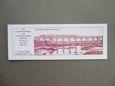 BOOKMARK Oakwood Press SCHULL & SKIBBEREEN County Cork Ireland Railway  # 32