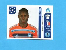 PANINI-CHAMPIONS 2011-2012-Figurina n.366- ROD FANNI -OLYMPIQUE M.-NEW BLACK