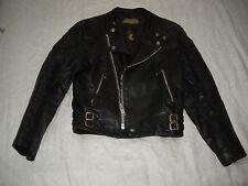 Vtg 60s/70s LEWIS LEATHER Jacket Biker size 36