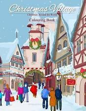 Libro Para Colorear De Navidad de todo el mundo: Libros de Navidad aldea; colorantes..