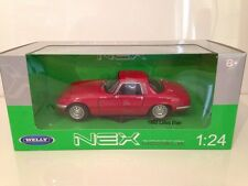 1965 Lotus Elan Red 1:24 Scale Welly 24035R New FREE UK POSTAGE